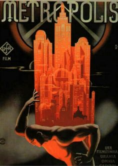 Poster for the film Metropolis (1927), directed by Fritz Lang