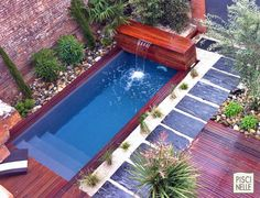 pool surrounded grass outdoor living pinterest rectangular pool. Black Bedroom Furniture Sets. Home Design Ideas