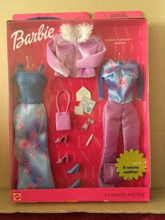 Barbie Fashion Avenue Mix 'n' Match (#28170) | 20+3