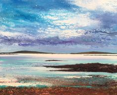 Tresco to Sampson Day 133 - Acrylic on Canvas