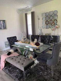 Living Room Decor Colors, Decor Home Living Room, Home Decor Furniture, Elegant Dining Room, Dining Room Design, Pinterest Room Decor, First Apartment Decorating, Home Decor Inspiration, Decor Ideas
