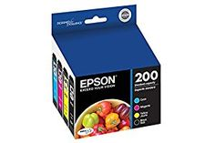 Amazon.com: Epson T200120-BCS DURABrite Ultra Black & Color Combo Pack Standard Capacity Cartridge Ink: Office Products