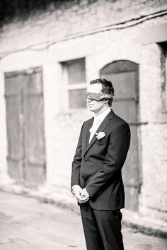 wartet auf seine Braut