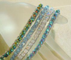 PATTERN Stack Um Up Bracelet Right Angle Weave by BaublesbyBalonis, $4.00
