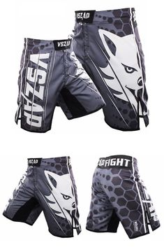 Ecko MMA Scribble Shorts MMA UFC Fightwear