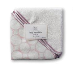 SwaddleDesigns Organic Washcloth Set, Mod Circles, 1 Pack
