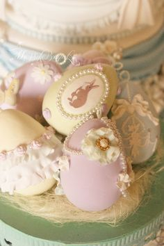 クレイで作るイースターエッグ Easter