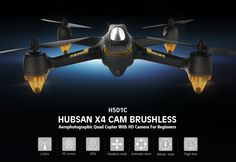 Hubsan X4 H501C Brushless With 1080P HD Camera GPS Altitude Hold Mode RC Quadcopter RTF Sale - Banggood.com
