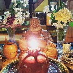 Happy hotei #altar #hotei