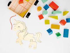 Simple Wooden Puzzle - Design #6