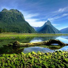 Mitre Peak Fiordland New Zealand