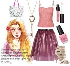 Modern Rapunzel Outfit