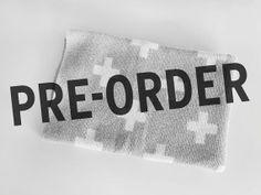 PRE-ORDER Grey Sweater Blankets