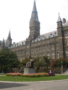 Georgetown University is a private research university in Washington, D. Founded in it is the oldest Jesuit and Catholic university in the United States. Georgetown University, University Of Washington, Georgetown Washington, Washington Dc, The Places Youll Go, Places To See, Catholic University, College Campus, College Life