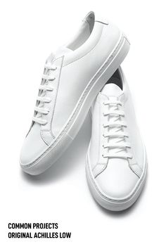 Looking for Common projects alternatives? I have got the best men's white sneaker covering every price. #commonprojects #shoes