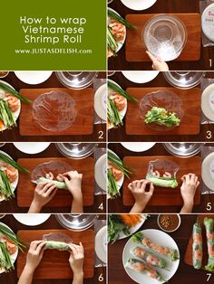 Healthy, refreshing and delicious Vietnamese Shrimp Rolls with Peanut Hoisin Sauce. & recipe for Homemade Hoisin Sauce