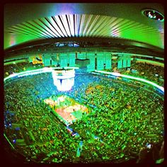 Boston Celtics at the TD Garden! #Massachusetts #Celtics