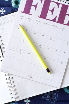Whether you own or rent your home, whether it's an apartment or a house, it'll need maintenance this year. Make your life easier and a little less stressful by planning out your home's maintenance for the whole year all at once, filling out an annual calendar and setting yourself reminders so you stay on track all year long!