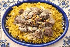 Lamb in Yogurt Sauce, Mansaf for Beginners. This site is the best! She cooks authentic, Palestinian food - the kind I grew up on and now am learning to make for myself.