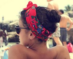Image detail for -Hair Scarves curly hair Head scarf – Naturally Curly Hair Styles ...