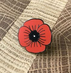 Memorial Day poppy Memorial Day Poppies, Poppy Badges, Poppy Pins, Military Pins, Flanders Field, Remembrance Day, Cool Pins, Veterans Day, Hat Pins