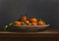 Daily paintings | Bowl of Clementines | Postcard from Provence