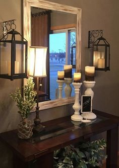 Best Small Entryway Decor & Design Ideas To Upgrade Space 2019 Looking for small entryway decor? Take a look at these stunning entryway decor ideas that will upgrade your space. Decoration Entree, Entrance Decor, Hallway Decorating, Living Room Decorating Ideas, Home And Deco, Home Living Room, Entryway Ideas, Small Entryway Decor, Rustic Entryway