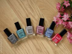 Review of Avon Magic Effects Mineral Crush nail polishes (Diamond, Topez, Pearl, Rose Quartz, Agate, Ruby)