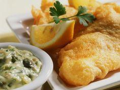 Schellfisch im Bierteig dazu Remoulade ist ein Rezept mit frischen Zutaten aus der Kategorie Meerwasserfisch. Probieren Sie dieses und weitere Rezepte von EAT SMARTER!