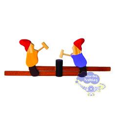Anões Móveis, brinquedos educativos, brinquedos de madeira, brinquedos waldorf, brinquedos montessori, brinquedos bohney