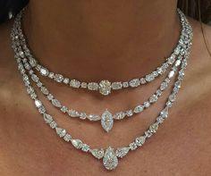 Diamond Necklaces : Nsouli jewellery