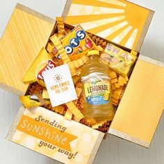When you're having a gloomy day, a great way to cheer yourself up is to do something nice for someone else—but sometimes it's hard to know what to do! How about mailing someone a box of sunshine? :…