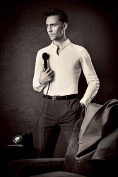 Tom Hiddleston by Tomo Brejc for ES Magazine