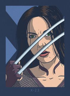 X-23 Laura Kinney the latest addition to my X-Men Yearbook.