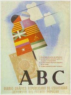España por la República : ABC, diario republicano de izquierdas…En 19 portadas, de momento Funny Commercials, Funny Ads, Abc Diario, Frente Popular, Socialism, Revolutionaries, More Fun, Spanish, Best Gifts