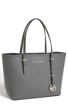 Michael Michael Kors Handbag Jet Set Travel Small Tote Dark Slate | eBay