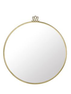 Shop SUITE NY for the Randaccio Circular Wall Mirror designed by Gio Ponti for GUBI and other home accessories and brass mirrors. Round Hanging Mirror, Circular Mirror, Round Mirrors, Brass Mirror, Wall Mirror, Italian Home, Gio Ponti, Concept Board, Signature Design