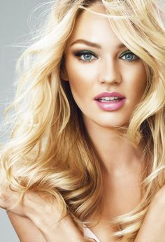 Victoria's Secret! Candice Swanepoel! With a last name like that, she is probably from South Africa.