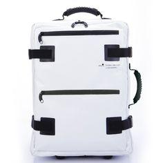 Tarpaulin Carry-On White