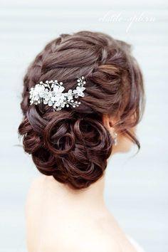 Another idea for long hair or medium hair