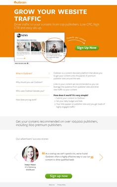 "6 Ways to Lower Your CPC with Landing Page Optimization "" The relevancy and quality of your landing pages affect your Quality Score, which directly affects your cost per click (CPC). Landing Page Best Practices, Landing Page Examples, Best Landing Pages, Marketing Services, Inbound Marketing, Affiliate Marketing, Email Marketing, Business Website, Online Business"