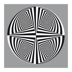 op art quadrant