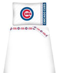MLB Chicago Cubs Micro Fiber Sheet Set Twin