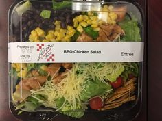 FISD Child Nutrition @FISDCafe NEW BBQ Chicken Salad - Featured Friday at all Frisco High Schools. @FriscoHHSCoyote @LebanonTrailHS @RHSFrisco @LSHSRangers