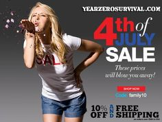 Celebrate and save on your survival gear at YearZeroSurvival.com 's 4th of July sale!