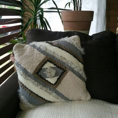 Check out this item in my Etsy shop https://www.etsy.com/au/listing/272083620/handwoven-cushion-no4