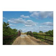 Kansas Old Country Bridge Photo Enlargement  $61.05  by Brozeks  - cyo customize personalize diy idea