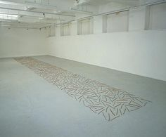 Richard Long, Willow Sticks, 1980 From the. Willow Sticks, Richard Long, Tree Patterns, Stars At Night, Natural Forms, Conceptual Art, Landscape Art, Installation Art, Art Pieces