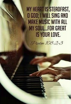 Awake, harp and lyre! I will awaken the dawn. I will praise you, Lord, among the nations; I will sing of you among the peoples.
