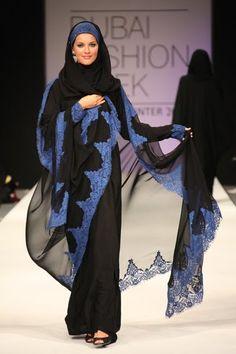 Latest Dubai Designer Abaya Gowns Designs Collection 2015-2016 (10)
